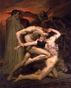 482px-William-Adolphe_Bouguereau_(1825-1905)_-_Dante_And_Virgil_In_Hell_(1850)