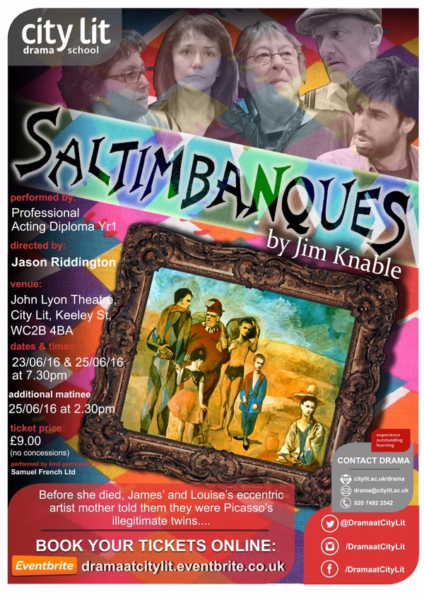 Saltimbanques poster